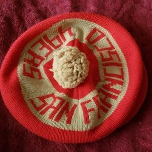 Other - Rare 49ers beret